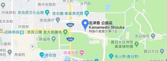 釜めし 志津香 マップ