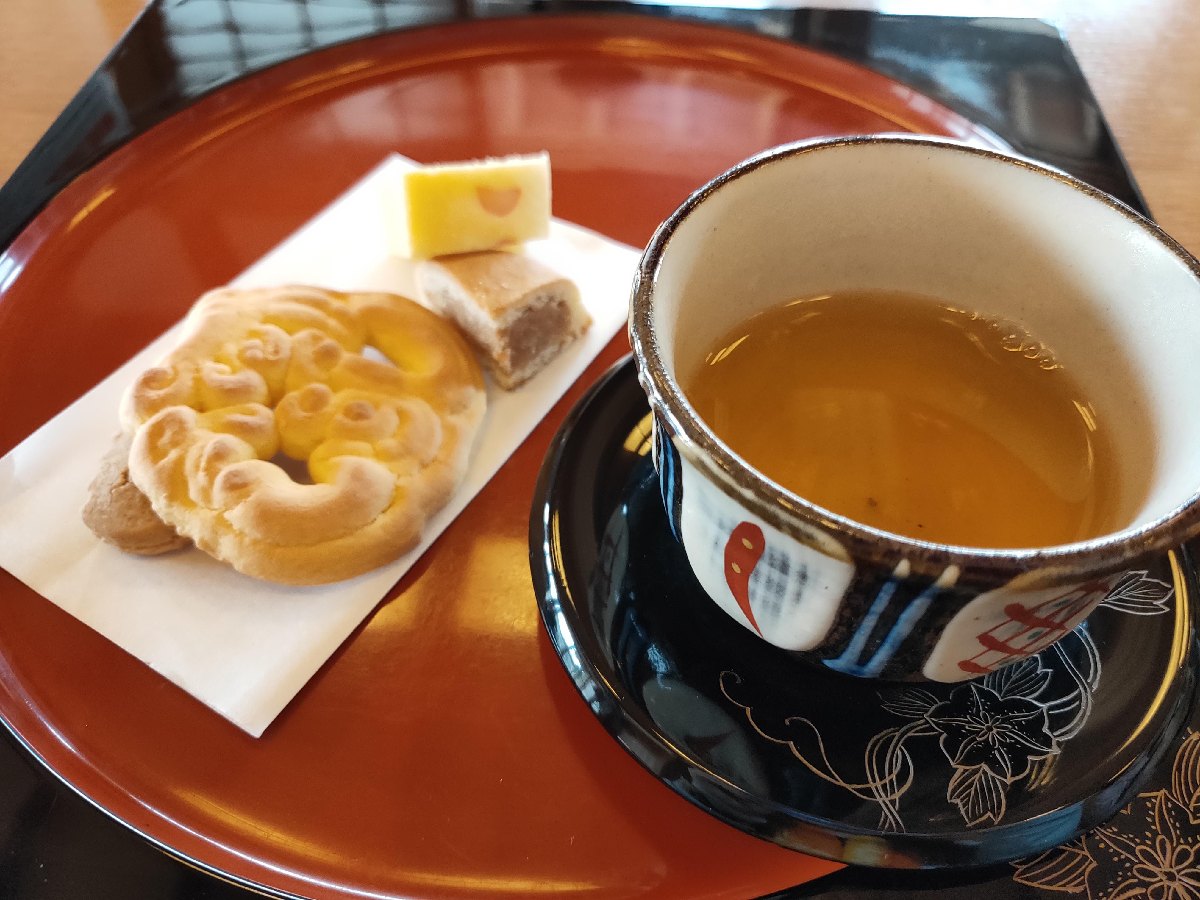 首里城 茶室 伝統菓子