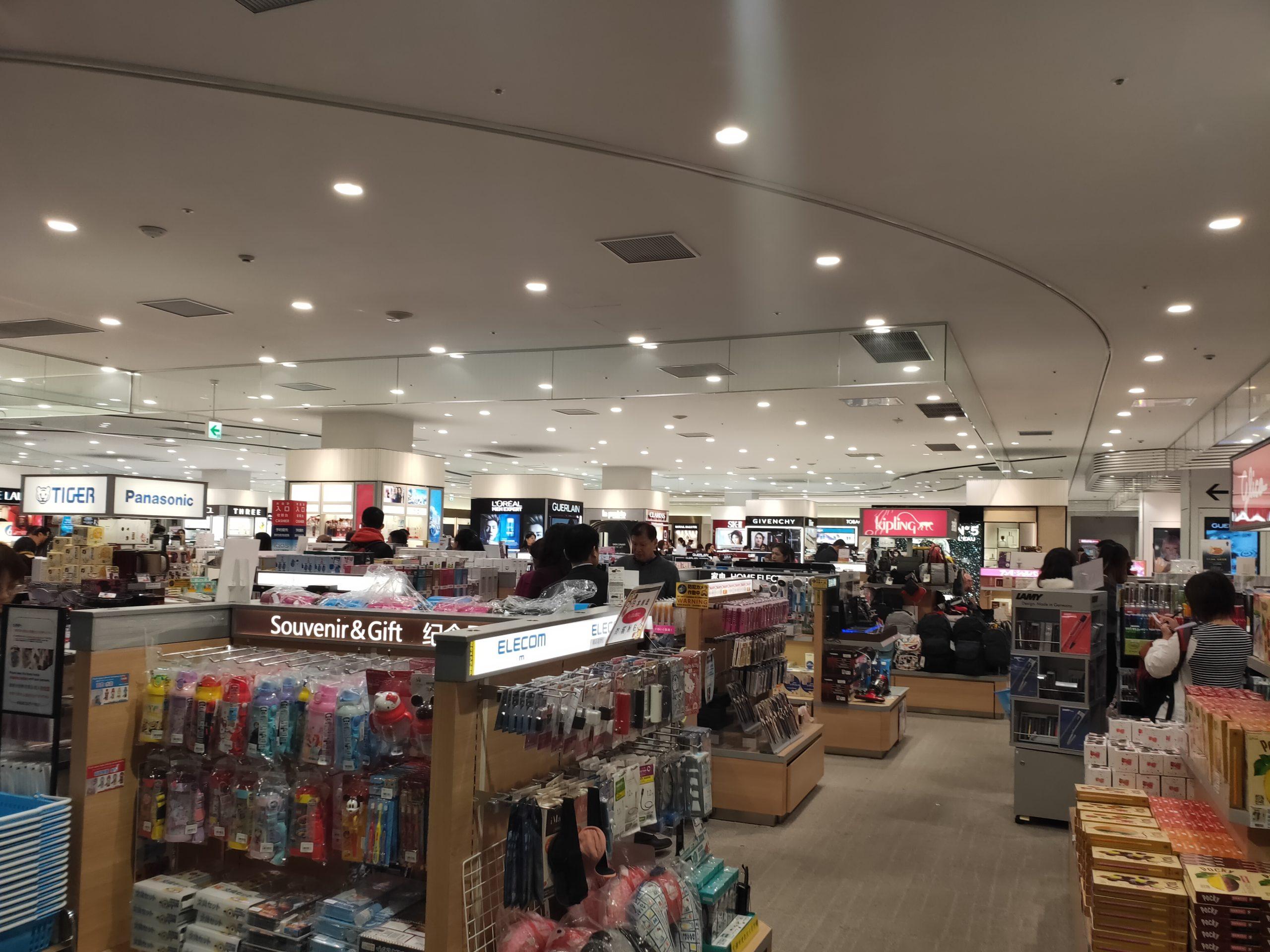 関空第2ターミナル 免税店